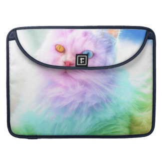 Unicorn Rainbow Cat Sleeve For MacBook Pro