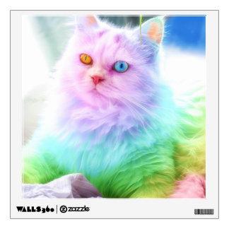 Unicorn Rainbow Cat Wall Sticker