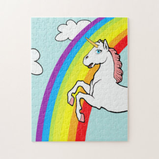 Unicorn Rainbow Jigsaw Puzzle