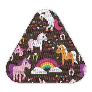 unicorn rainbow kids background horse blueooth speaker