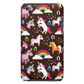 unicorn rainbow kids background horse iPod touch case