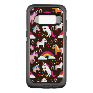 unicorn rainbow kids background horse OtterBox commuter samsung galaxy s8 case