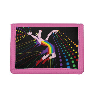 Unicorn Rainbow Maker Tri-fold Wallets