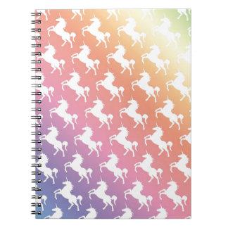 Unicorn Rainbow Notebook