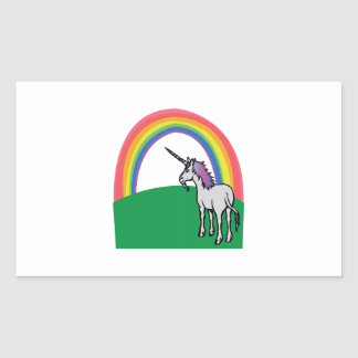 Unicorn Rainbow Sticker