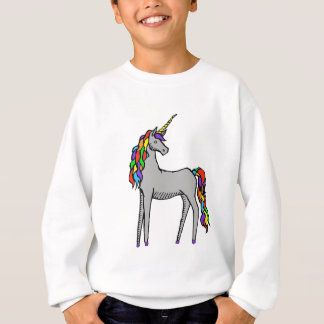 Unicorn Rainbow Sweatshirt
