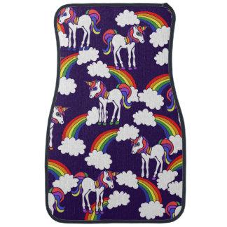Unicorn Rainbows Car Mat