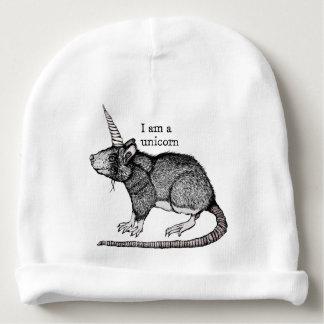 Unicorn Rat Baby Beanie