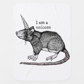 Unicorn Rat Swaddle Blanket