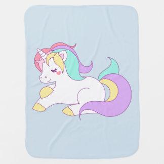 Unicorn Receiving Blanket