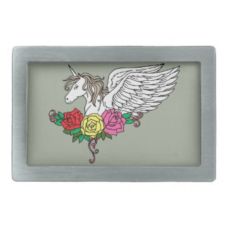 Unicorn Rectangular Belt Buckles