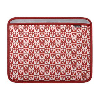 Unicorn Red Heart Macbook Air Sleeve