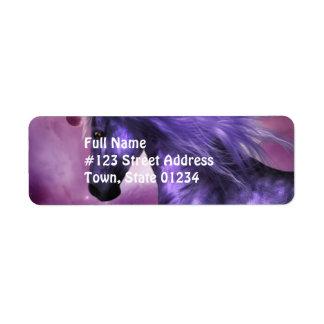 Unicorn Return Address Mailing Labels