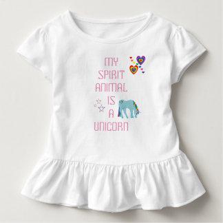 Unicorn Ruffle T-shirt
