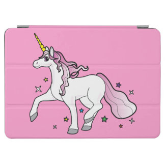 Unicorn Running through the Stars iPad Air Cover