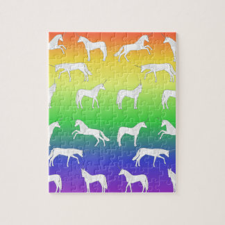 Unicorn selection jigsaw puzzle