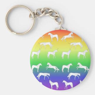 Unicorn selection keychain