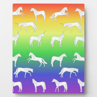 Unicorn selection plaque