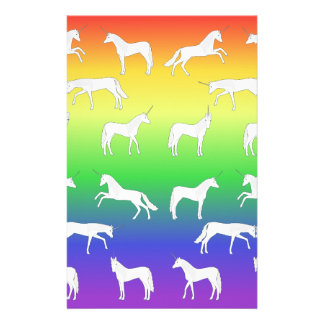 Unicorn selection stationery