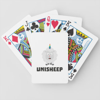 Unicorn Sheep Unisheep Z4txe Bicycle Playing Cards