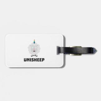 Unicorn Sheep Unisheep Z4txe Luggage Tag