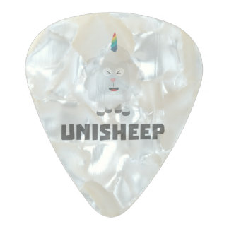 Unicorn Sheep Unisheep Z4txe Pearl Celluloid Guitar Pick