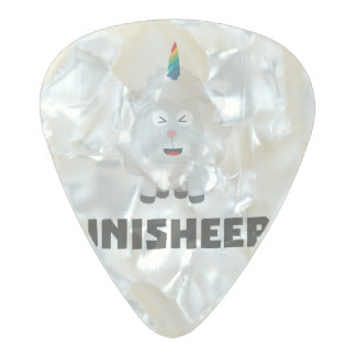Unicorn Sheep Unisheep Z4txe Pearl Celluloid Guitar Pick