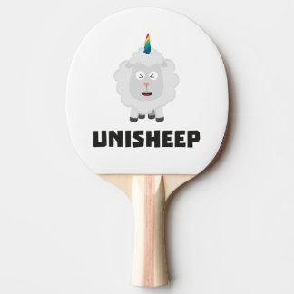 Unicorn Sheep Unisheep Z4txe Ping Pong Paddle
