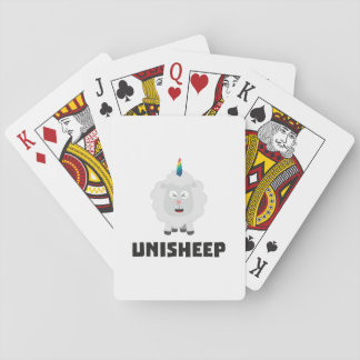 Unicorn Sheep Unisheep Z4txe Playing Cards
