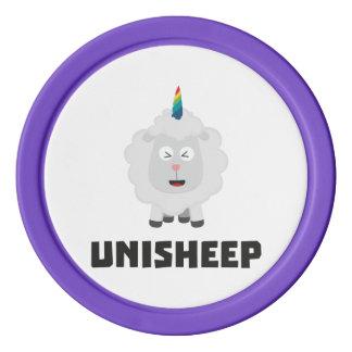 Unicorn Sheep Unisheep Z4txe Poker Chip Set