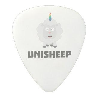 Unicorn Sheep Unisheep Z4txe Polycarbonate Guitar Pick