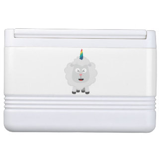 Unicorn Sheep with rainbow Zffz8
