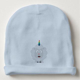Unicorn Sheep with rainbow Zffz8 Baby Beanie