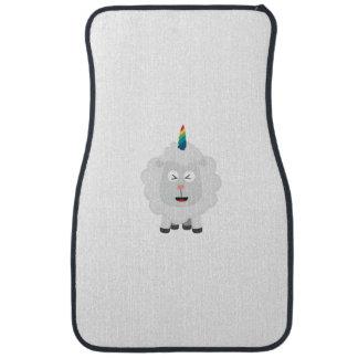Unicorn Sheep with rainbow Zffz8 Car Mat
