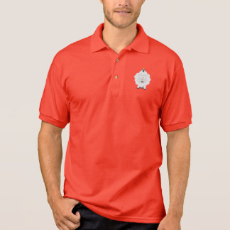 Unicorn Sheep with rainbow Zffz8 Polo Shirt