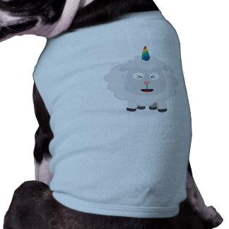 Unicorn Sheep with rainbow Zffz8 Shirt