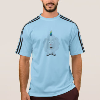Unicorn Sheep with rainbow Zffz8 T-Shirt