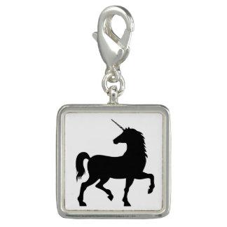 Unicorn Silhouette Charm