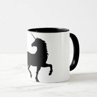 Unicorn Silhouette Fantasy Mug