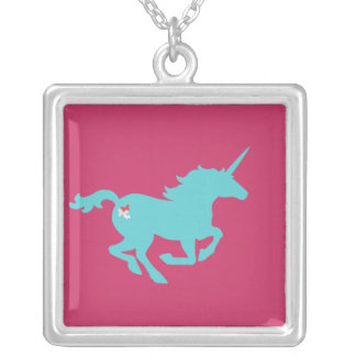 Unicorn Silhouette Necklace