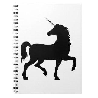 Unicorn Silhouette Notebook