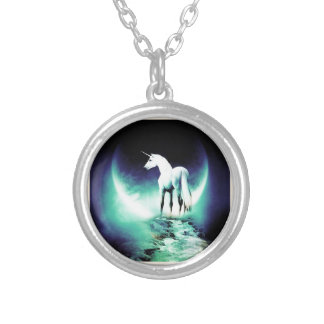 Unicorn Silver Plated Necklace