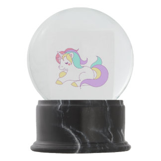 Unicorn Snow Globe