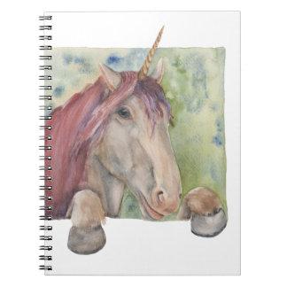Unicorn Spiral Notebook
