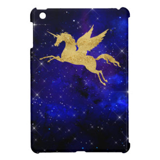 Unicorn Stardust Galaxy Constellation Blue Mini iPad Mini Case