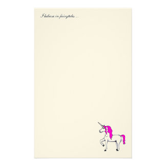 'Unicorn' stationery