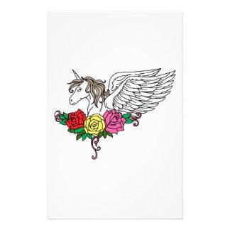 Unicorn Stationery Design