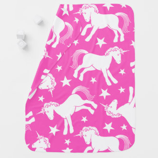 Unicorn Stroller Blanket