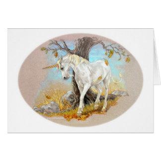 "Unicorn ""Summer's End"" Card"