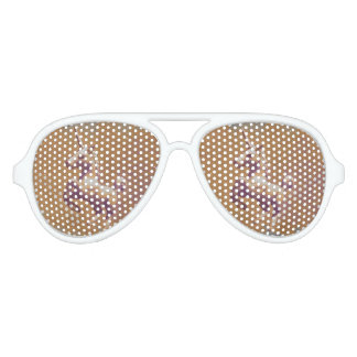 Unicorn Sunglasses Shades (Metal Lavender)